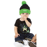 Kawasaki Infant Kawi Kid One Piece Black