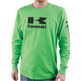 Kawasaki Stacked Logo Long Sleeve T-Shirt