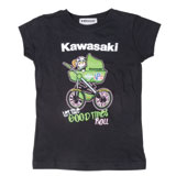 Kawasaki Girl's Toddler Race Buggie T-Shirt