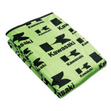 Kawasaki Stacked Logo Blanket