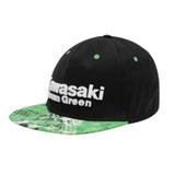 Kawasaki Team Green Flex Fit Hat