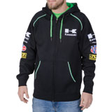 Kawasaki Classic Race Zip-Up Hooded Sweatshirt