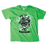 Kawasaki Youth Helmet Head T-Shirt