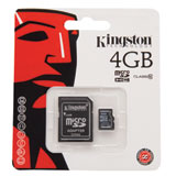 Kingston Micro SDHC Card Class 10