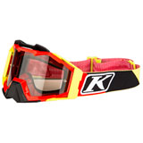 Klim Viper Pro Off-Road Goggle Stripe Red Frame/Smoke Lens