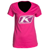Klim Women's Razor Graphic V-Neck T-Shirt