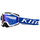 Klim Viper Snow Goggle Linkage Blue Frame/Dark Smoke Blue Mirror Lens