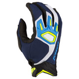 Klim Dakar Gloves Kinetik Blue