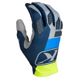 Klim XC Lite Gloves Kinetik Blue