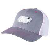 Klim Icon Snapback Hat Heathered Grey/White