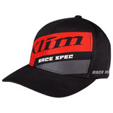 Klim Race Spec Snapback Hat 20 Black/High Risk Red
