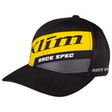 Klim Race Spec Snapback Hat 20 Black/Yellow