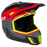 Klim F3 Helmet Tectonic High Risk Red
