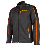 Klim Inferno Mid-Layer Jacket Asphalt/Strike Orange