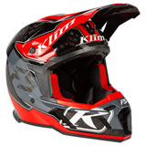 Klim F5 Helmet Shred High Risk Red