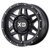 KMC XS128 Machete Wheel Black
