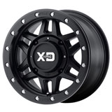 KMC XS228 Machete Beadlock Wheel Black