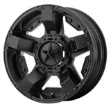 KMC XS811 Rockstar II Wheel Black