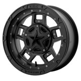 KMC XS827 Rockstar III Wheel Black