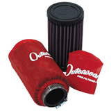 K & N Clamp on Air Filters With Outerwears Red