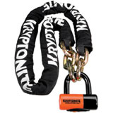Kryptonite New York Chain with Evolution Series 4 Disc Lock