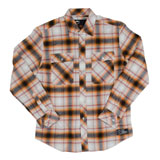 KTM Checkered Long Sleeve Button Up Shirt