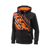 KTM Big MX Zip-Up Hooded Sweatshirt