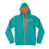 KTM Logo Ladies Zip-Up Hooded Sweatshirt