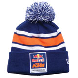 KTM Red Bull Factory Racing Pom Logo Beanie