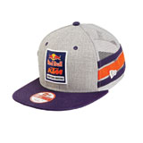 KTM Red Bull Factory Racing Side Stripe Snapback Hat
