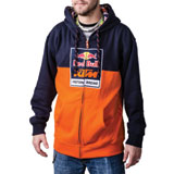 KTM Red Bull Factory Racing Logo Zip-Up Hooded Sweatshirt