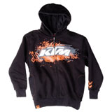 KTM Hold-Out Youth Zip-Up Hooded Sweatshirt