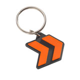 KTM Arrow Rubber Keychain