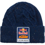 KTM Women's Red Bull Speckled Cable Knit Beanie