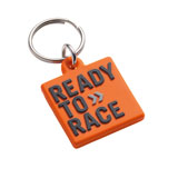 KTM Rubber Logo Keychain  Orange