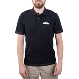 KTM Racing Polo Shirt Black