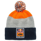 KTM Red Bull Racing Team Stripe Pom Beanie