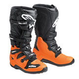 KTM Tech 7 MX Boots Black/Orange