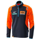 KTM Replica Team 1/4 Zip Thin Sweatshirt Orange/Navy