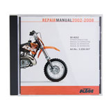 KTM OEM CD-ROM Repair Manual