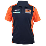 KTM Replica Team Polo Shirt Orange/Navy