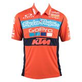 KTM TLD Team Pit Polo Shirt Orange