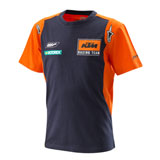 KTM Youth Replica Team T-Shirt Orange/Navy