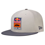 KTM Red Bull Racing Team Hex Snapback Hat Grey