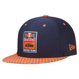 KTM Red Bull Racing Team Hex Snapback Hat Navy/Orange