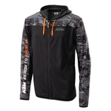 KTM Emphasis Zip-Up Hooded Sweatshirt