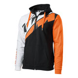 KTM Radical Sliced Zip-Up Hooded Sweatshirt Black
