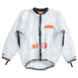 KTM Transparent Rain Jacket Clear