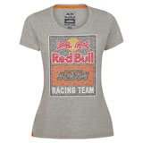 KTM Women's Red Bull Racing Team Graphic T-Shirt Grey