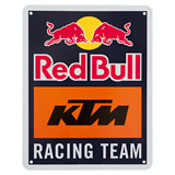 KTM Red Bull Racing Team Metal Sign